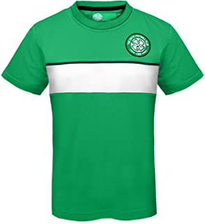 Celtic Football Club Official Soccer Gift Boys Poly Training Kit T-Shirt