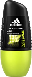 Adidas Sport Sensation Pure Game Anti-Perspirant Deodorant Roll-On for Men, 48h protection, 50 ml