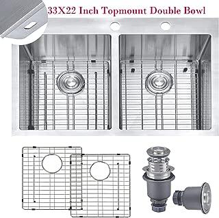 stainless steel top mount kitchen sink