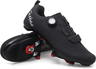 Mens Women Road Bike Cycling Shoes Riding Shoes with...