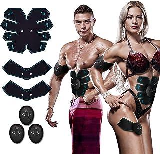 Antmona Abs Stimulator, Muscle Toner - Abs Stimulating Belt- Abdominal Toner- Training Device for Muscles- Wireless Portab...
