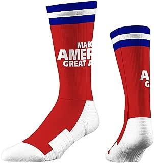 Strideline Make America Great Again Premium Crew Socks