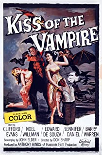 Posterazzi The Kiss of The Vampire 1963. Movie Masterprint Poster Print, (11 x 17)