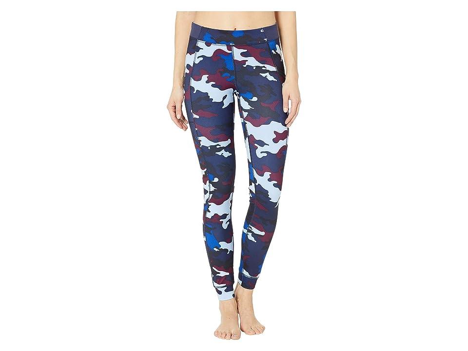 Champion Gym Issuetm Tights w/ Side Pocket Print (Leaf Camo) Women