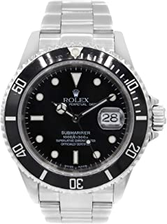 Submariner Automatic-self-Wind Male Watch 16610 (Certified Pre-Owned)
