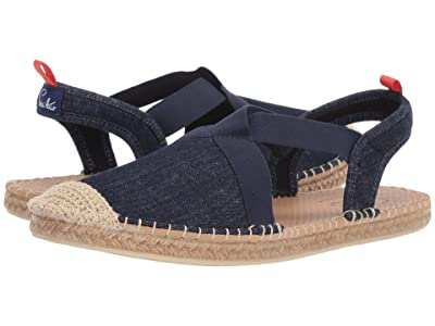 Sea Star Beachwear Seafarer Slingback Water Shoe (Dark Denim/No Embroidery) Women