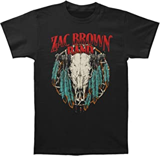 Men's Steer Dream Catcher Slim Fit T-Shirt Black