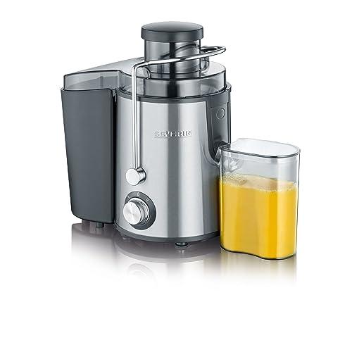 Severin ES 3566 Centrifuga Professionale Inox, BPA Free, Motore Silenzioso, contenitore di 0.5 litri