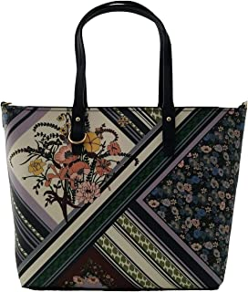 Tory Burch Women's Kerrington Small Tote Homage to the Flower Patchwork