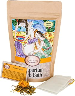 Birth Song Botanicals Postpartum Herb Sitz Bath for Soothing Recovery, 8 oz.