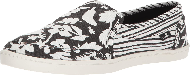 Sanuk Womens Pair O Dice Prints Loafer Flat
