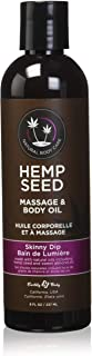 Earthly Body Massage Oil, Skinny Dip, 8 Ounce