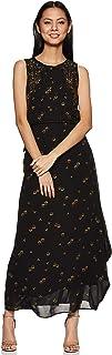 global desi Synthetic a-line Dress (SS19GU117MXPGBLACKXXL_Black_XX-Large)