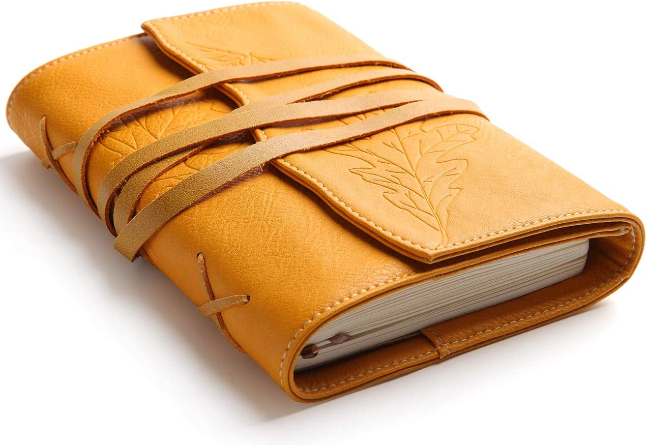 Refillable Max 58% OFF Leather Journal Travel free shipping - Notebook Bound Diary