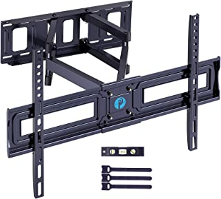 Full Motion TV Wall Mount Bracket for Most 37-75 Inch TV Articulating Arms Swivels Tilts Extension Rotation LED LCD Flat C...
