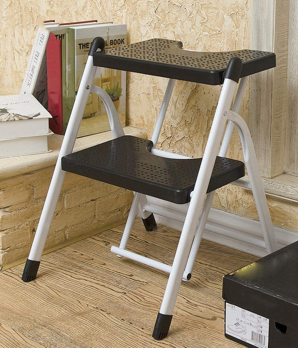 2 3 Steps Folding Ladder Stool Foot Stepladder Max 89% OFF Port NEW before selling Adult Stools