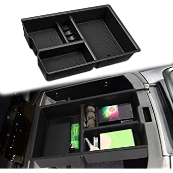 Full Console w//Bucket Seats ONLY Coin Holder Moonlinks Center Console Organizer for 2009-2018 Dodge RAM 1500 /& 2010-2018 RAM 2500//3500,Storage Box Armrest Secondary Tray