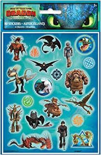 Unique How to Train Your Dragon Party Stickers, 1 Pack