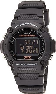 Casio Casio Men Watch W 219H 8BVDF, black