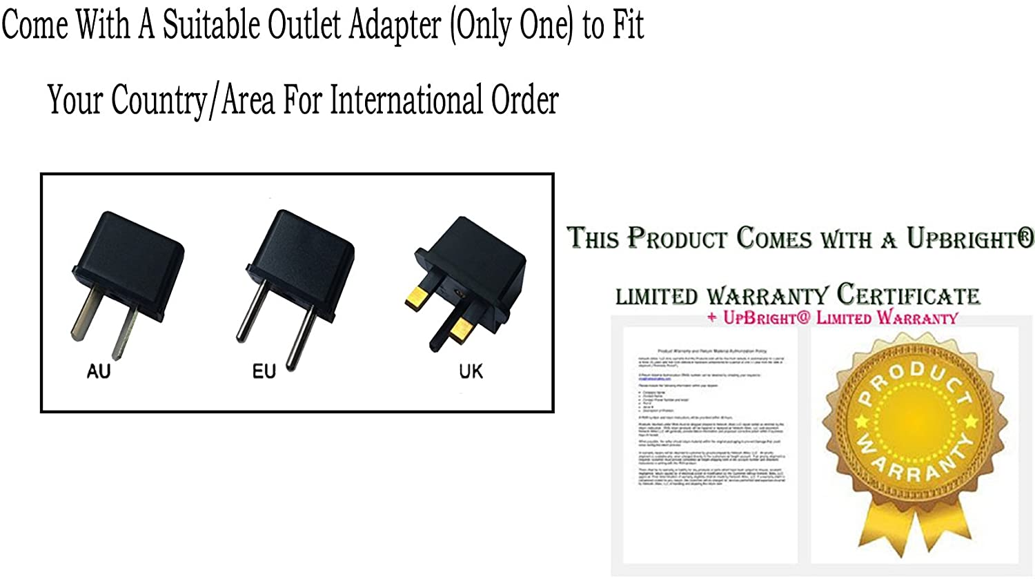 UPBRIGHT 12V AC/DC Adapter Replacement for Sunrise DeVilbiss Traveler 6910 P 6910P-DR 6910PDR Portable Compressor System RGD48120120 12VDC 1200mA I.T.E DC12V 1.2A 1.5A Power Supply Battery Charger