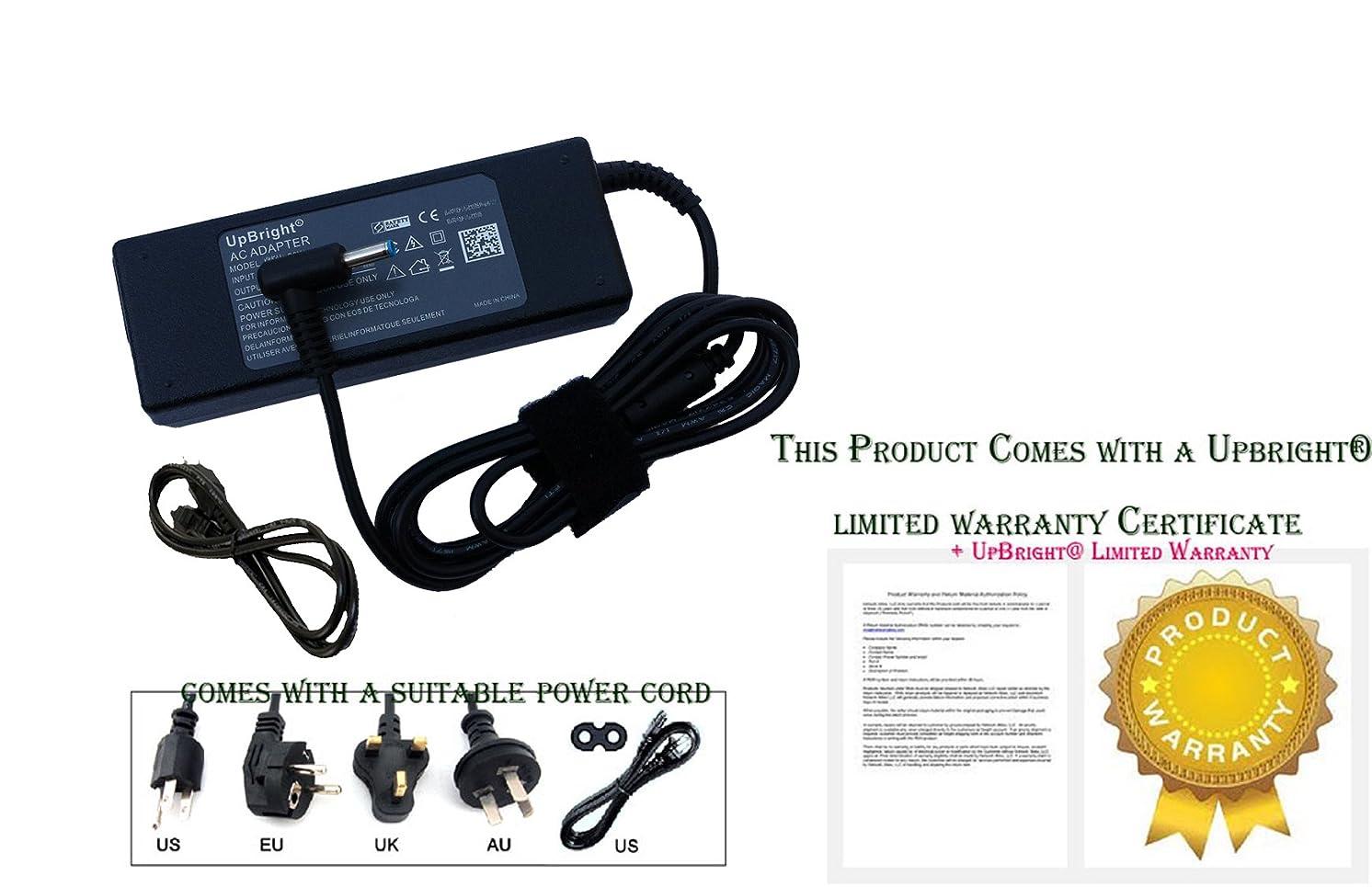 UpBright New 19.5V 4.62A AC/DC Adapter for HP Envy m7-n109dx M7-N010DX M7-N102DX M7-k212dx 15-g057cl 15-g067cl 15-g068cl 15-g069cl 15-g071nr 15-g072nr 15-g073nr 15-K000NG 15-K031NG 19.5VDC Charger