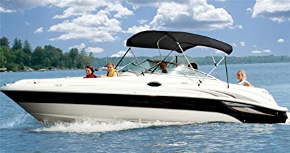 6.25 oz Complete Full Boat Bimini TOP Sunshade TOP Set for BAYLINER Classic 2250 CF I/O 1993-1993