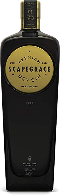 Scapegrace Gold Premium Dry Gin, 700 ml