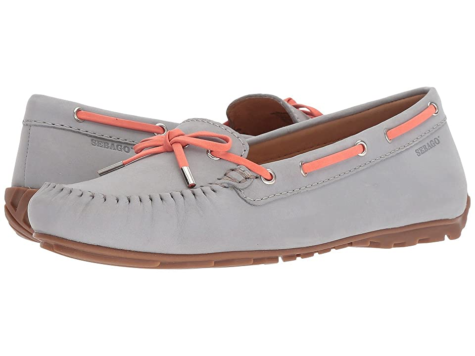 Sebago Harper Tie (Light Grey Nubuck) Women