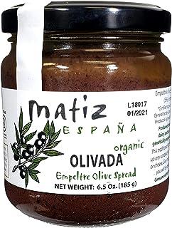 Sponsored Ad - Matiz España Black Olive Spread, 6.5 ounces, Natural Authentic Spanish Flavor, Create Gourmet Bruschetta, T...