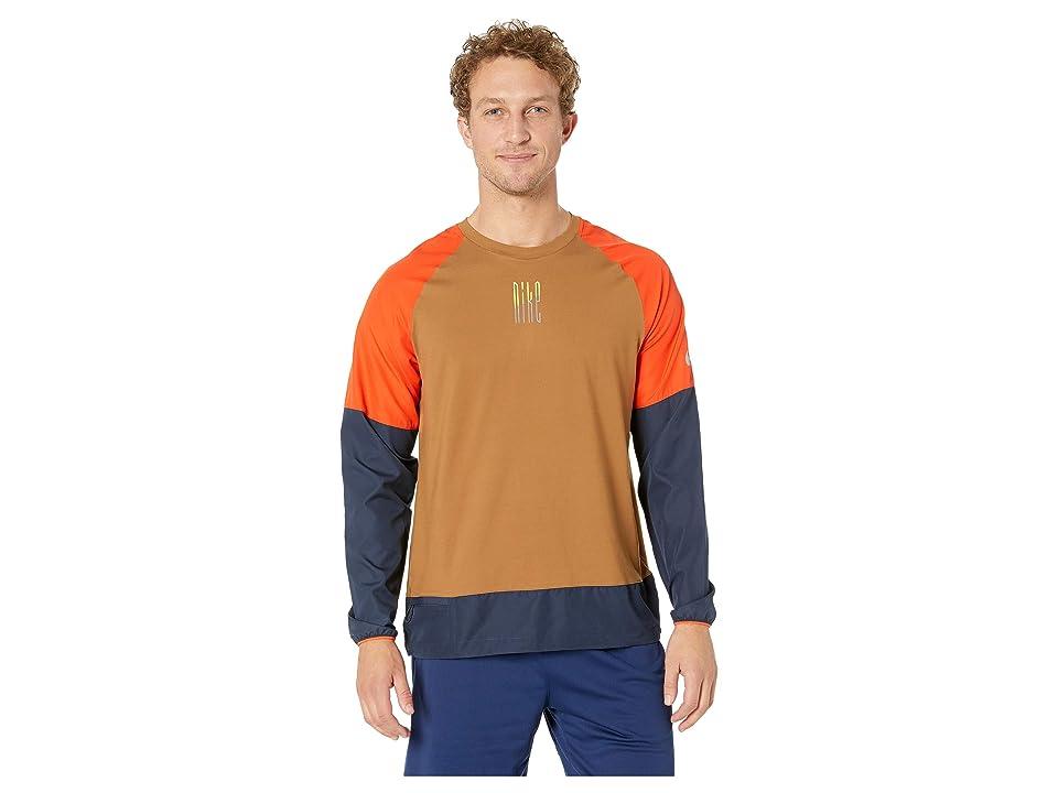 Nike Element Mix Crew (Ale Brown/Team Orange/Reflective Silver) Men