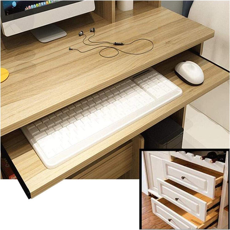 2 Section Telescopic Silent Drawer Runners Track 340mm Size : 14in Drawer Slides Full Extension Furniture Guide Rail Computer Desk Keyboard Drawer Slides 12// 14 Ball Bearing Slide