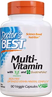 Sponsored Ad - Doctor's Best Multi-Vitamin, Formulation Fully Optimized for Absorption, Vitamins, Minerals, Antioxidants &...