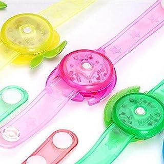 FISH4 Cinturino per Orologio per Bambini con luci a LED Luminose Orologio da Polso Creativo Orologio da Polso con Flash Gi...