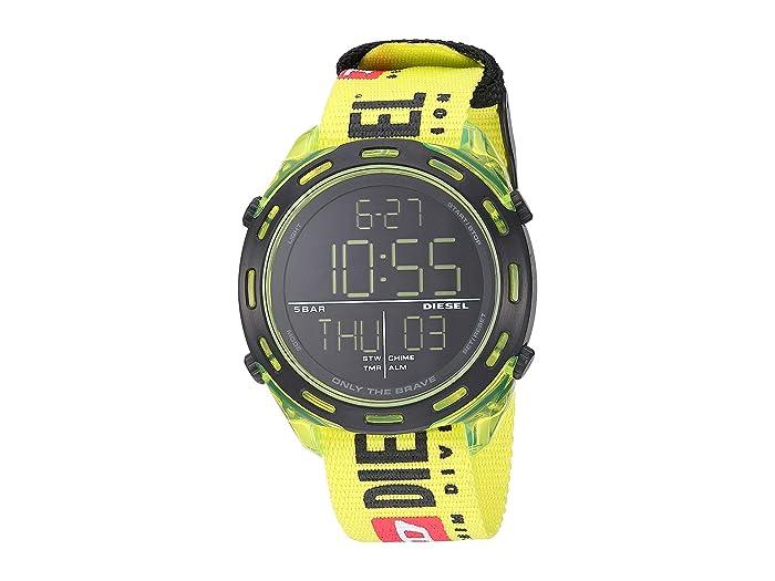Diesel  Crusher Digital - DZ1895 (Yellow) Watches