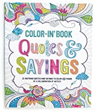 OOLY, Color-In' Book, Quotes & Sayings (118-170)