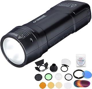 Visico 2 flash portátil estroboscópico 2.4 G TTL HSS 1/8000s portátil de bolsillo alimentado por batería Flash monolight 2...