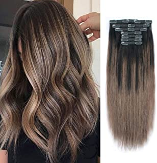 Best clip in balayage extensions Reviews