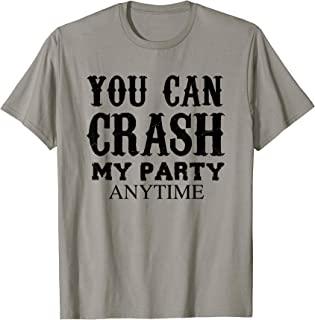 luke bryan can crash my party anytime shirt