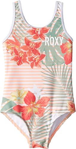 Lush Florals One-Piece (Toddler/Little Kids)