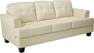 Best cream bonded leather sofa Reviews