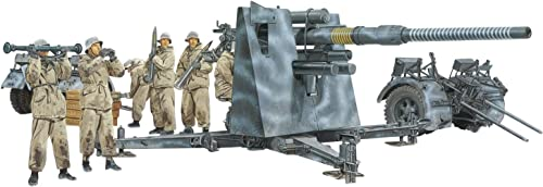 Platts 1 35 World War II German 88mm cannon Flak36 w   anti-aircraft artillery (winter equipment) Plastic DR6260