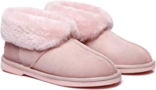 EVER UGG Premium Australian Sheepskin Wool Womens Girls Mallow Slippers Amazing Comfort and Warmth Shoes