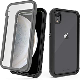 CellEver iPhone XR Case, Ultra Protective Case with Built-in Clear Screen Protector Full Body Cover Fits Apple iPhone XR ...