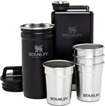 Stanley Unisex White Adventure Shot Glass And Flask Set - 10-01883-033