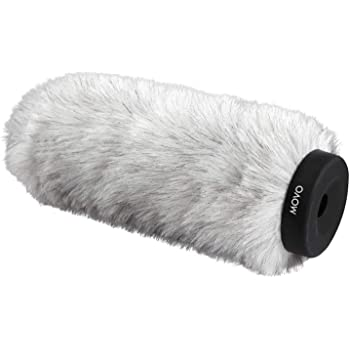 "9/"" Fur Windscreen Wind Muff for Professional Shotgun Mic Microphone Outdoor"