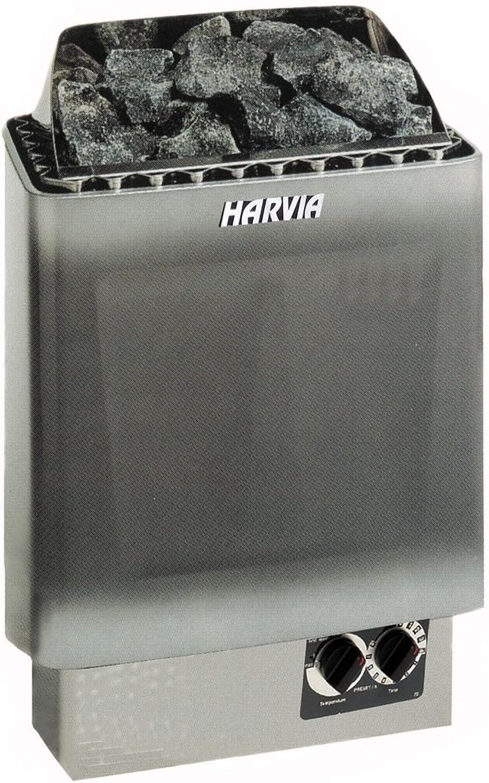 Well Solutions Harvia Saunaofen KIP 6 kW mit integrierter Steuerung, ohne Steine