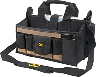 Custom Leathercraft Custom LeatherCraft 1529 16-Pocket, 16-Inch Center Tray Tool Bag
