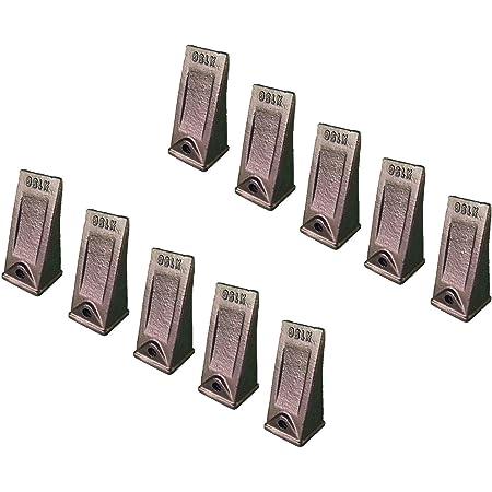 5PK X156T X156XTL Tiger Teeth  Bucket Digging Teeth//Tooth /& 5 P156 Roll Pins