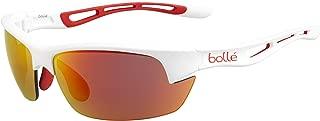 Bolt S Sunglasses - Matte White/Orange Rubber Frame//PC Fire AF Lens - 12204