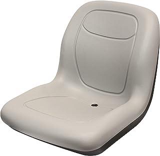 Seat Bucket Vinyl Gray New Holland L865 L783 L160 C185 L180 LX665 L170 LS180 LS140 C175 LX565 LX885 L185 L565 LS190 LX865 LS160 LS170 L190 L175 LS150 L785 Ford 655C 555C 555A 555B 655A 555D 655 555